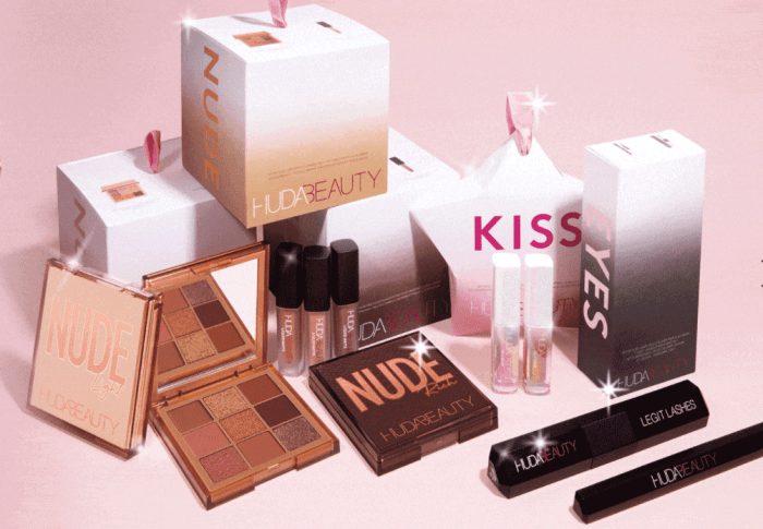 La Collection Noël 2020 de Huda Beauty