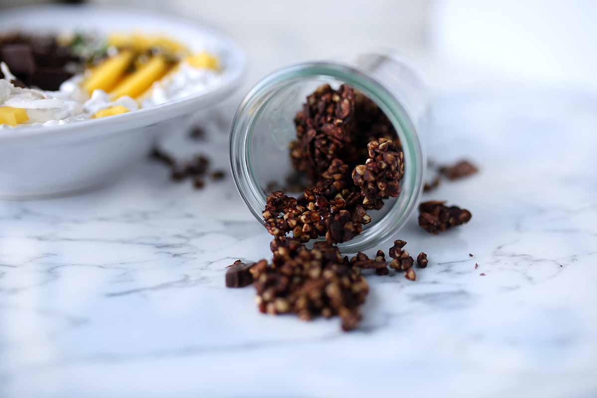 Glutenfree Double Chocolate Granola