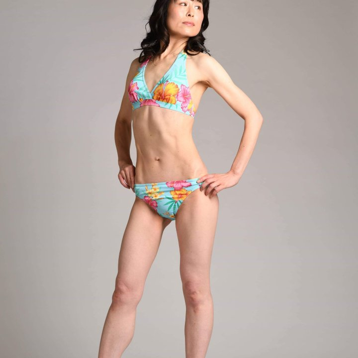 swimsuits model Asian fitness shooting tips