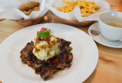 Dog-friendly Ah B Cafe Teriyaki Chicken | Vanillapup