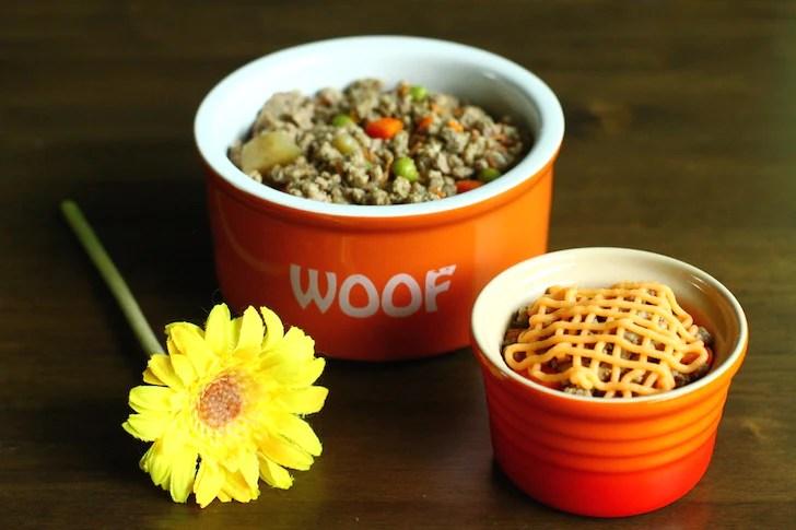 Dog shepherd's pie dog food recipe by Paws Fur Life | Vanillapup