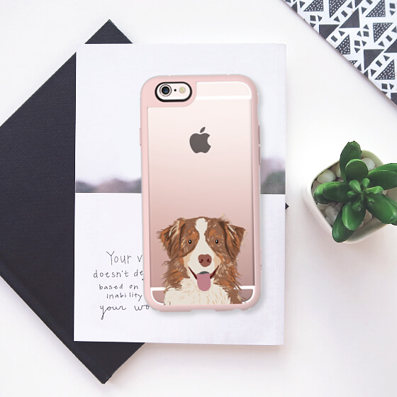 Australian Shepherd Phone Case   Vanillapup