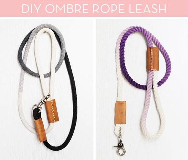 DIY Dog Rope Leash Curbly | Vanillapup