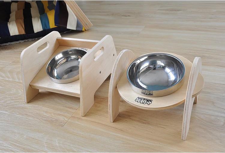 Taobao Little Dove Elevated Dog Bowl | Vanillapup