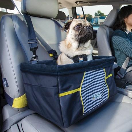 Kurgo Rover Booster Seat Nantucket | Vanillapup