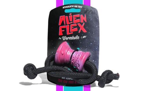 Alien Flex Active Rubber Toy - Wormhole