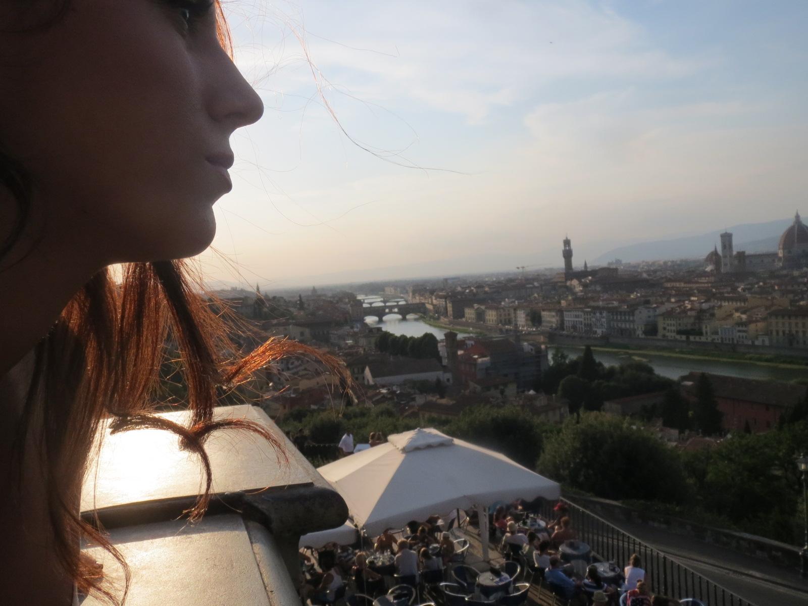 hofit kim cohen in Florence vanilla sky dreaming