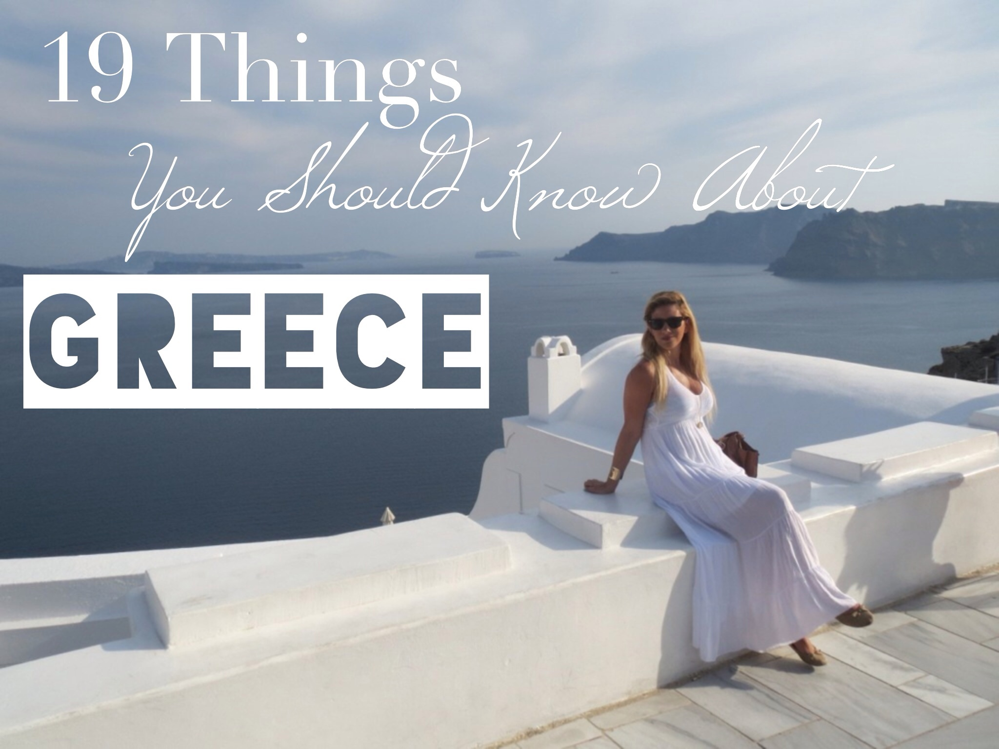 things about greece