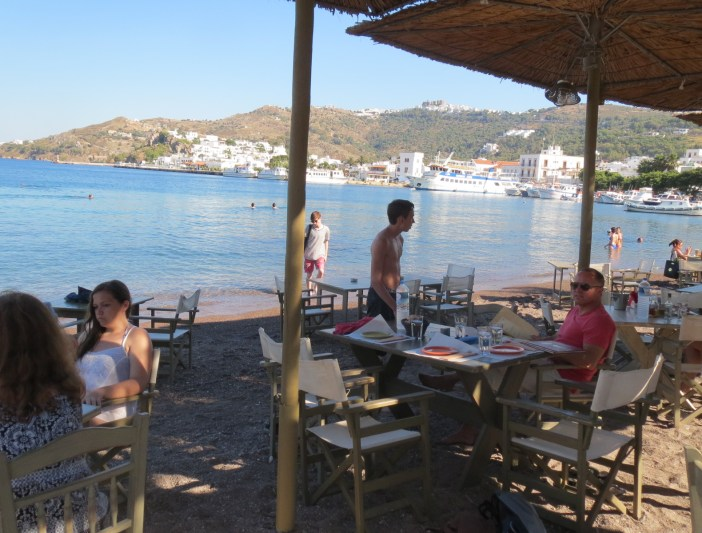 the island of Patmos Greece