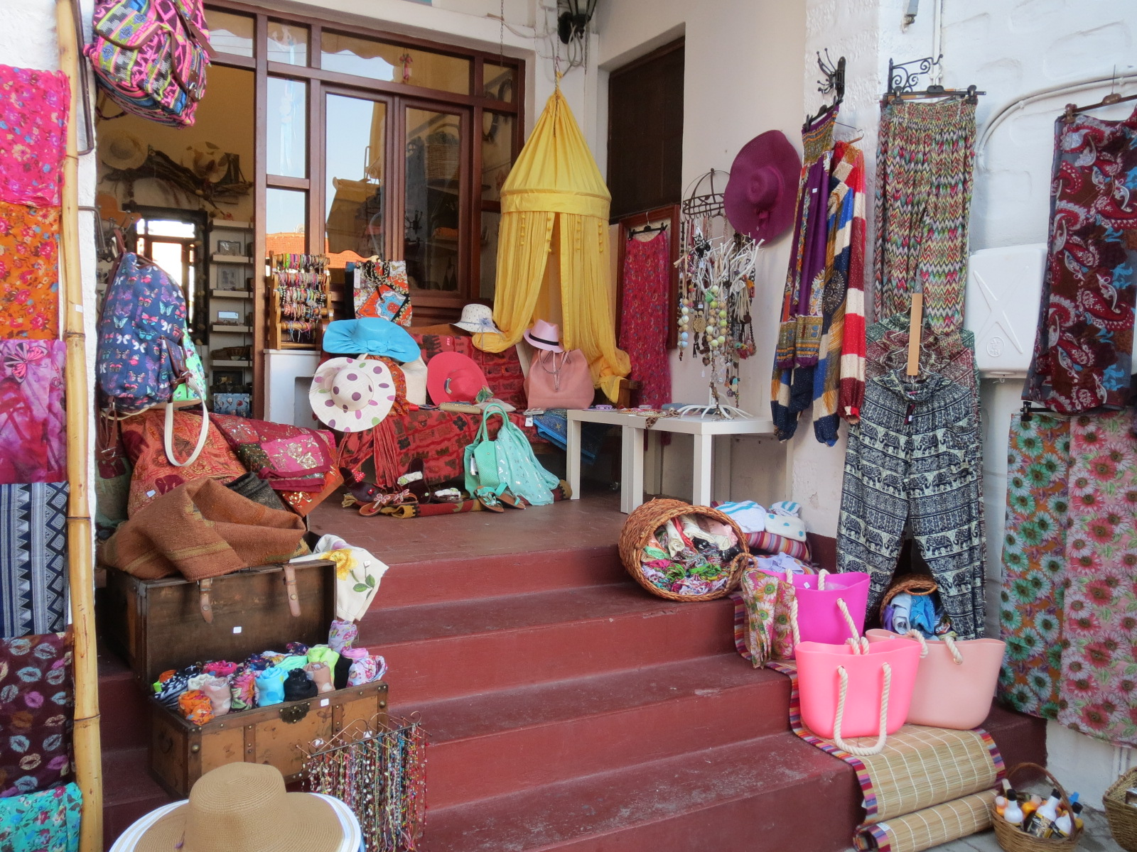 Patmos shopping