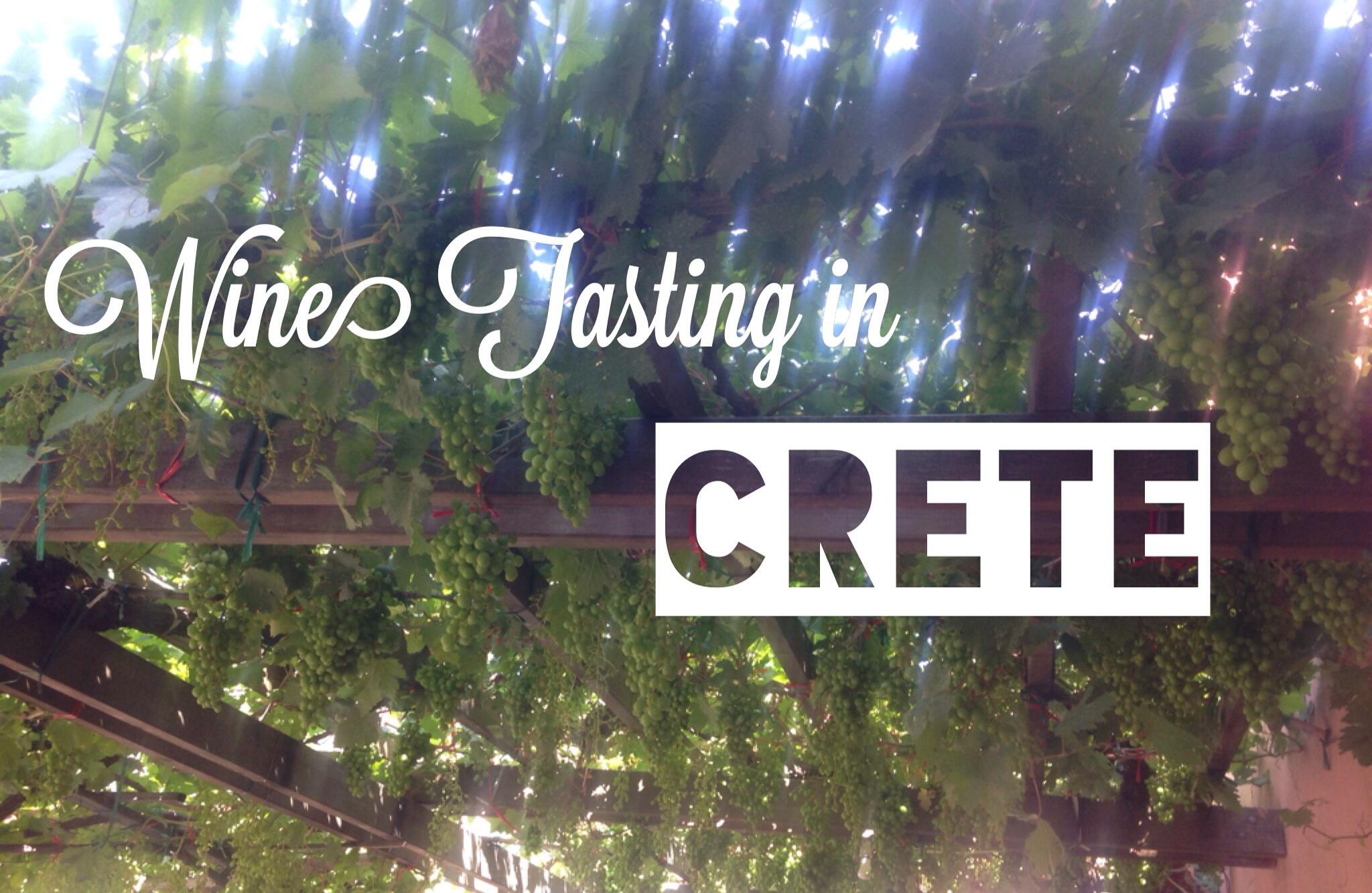Wine Tasting in Crete, Greece