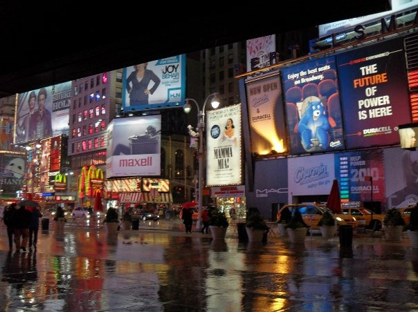 living in Time Square pros and cons