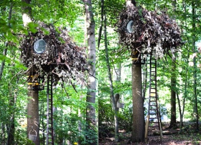 Air Hotel Belgium ,tree hotel