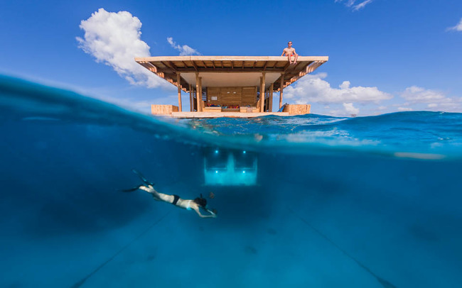 The Manta Resort (Pemba Island, Tanzania) underwater hotel