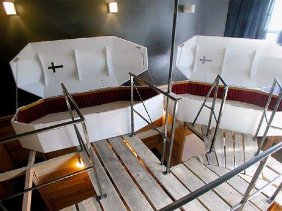 vampire hotel room coffins, crazy hotel