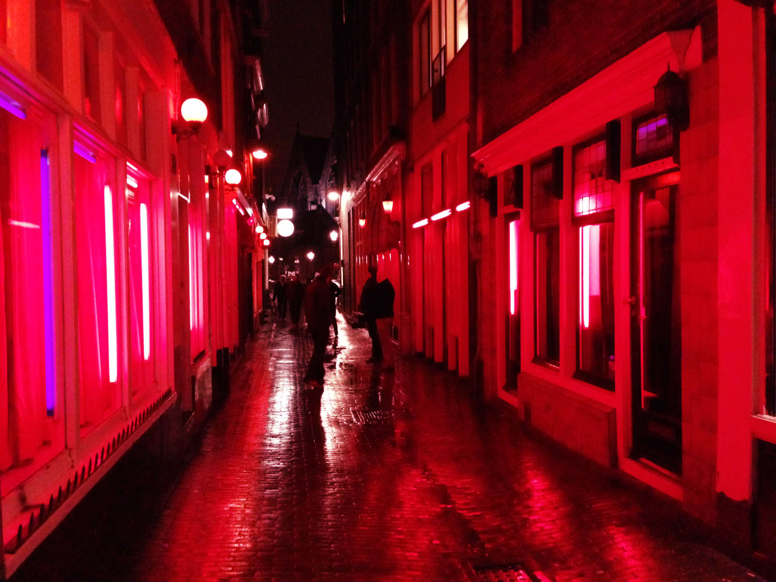 Inside Amsterdam's Red Light District