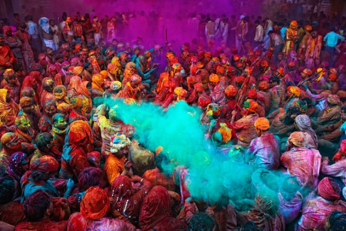 India holi festival of colors