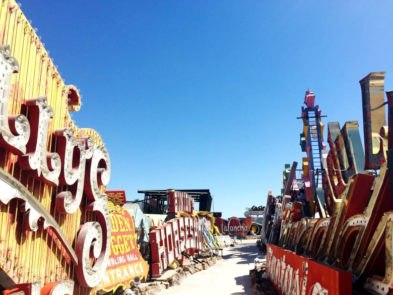 The Neon Museum tour