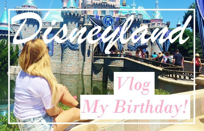 My Birthday In Disneyland Vlog - vanilla sky dreaming