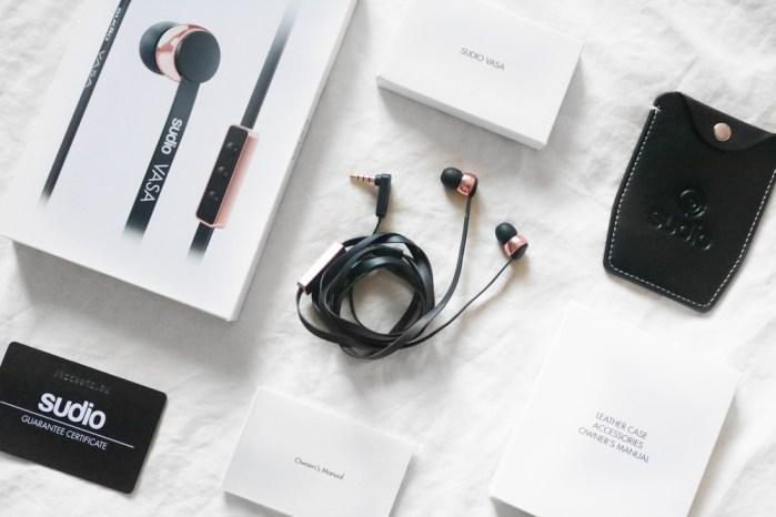 Sudio Sweden - Designer Earphones black