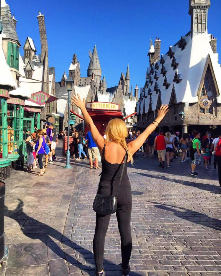 hofit kim cohen - vanilla sky dreaming The Wizarding World of Harry Potter - Universal Studios Hollywood