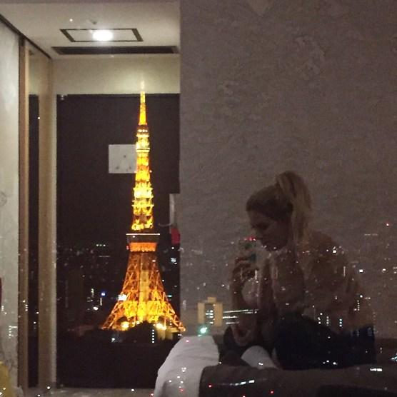 park hotel tokyo view - vanilla sky dreaming