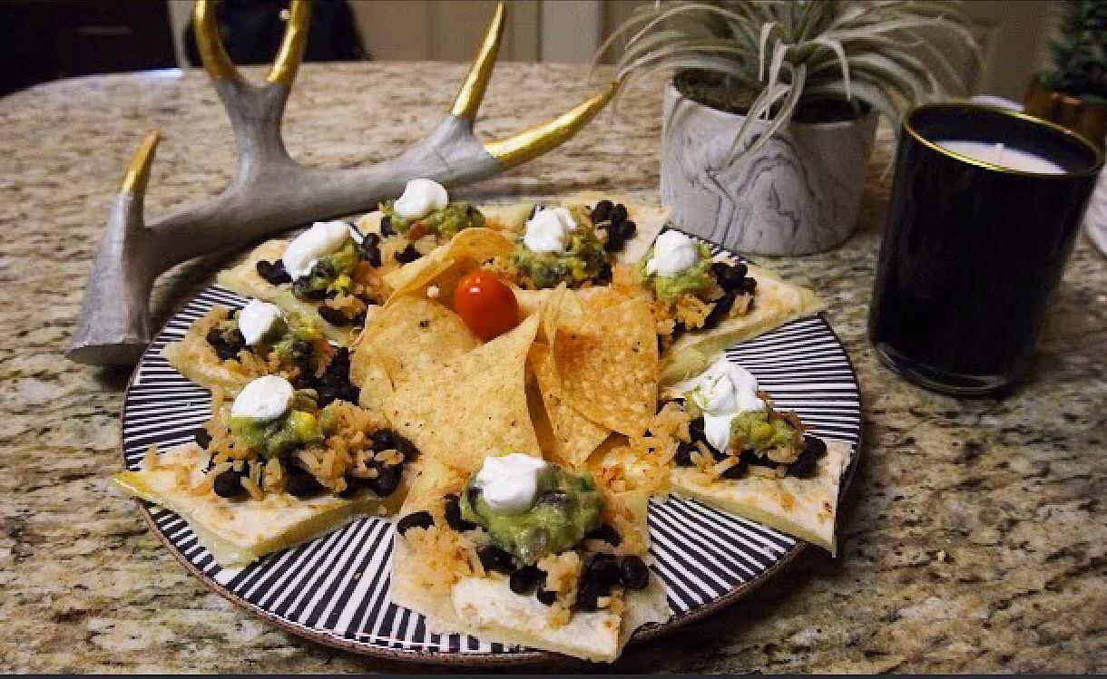 One Of My Favorite Dishes: A Quesadilla Open Burrito – RECIPE