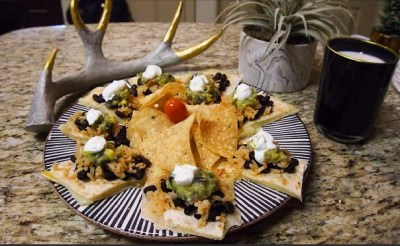 One Of My Favorite Dishes: A Quesadilla Open Burrito – RECIPE