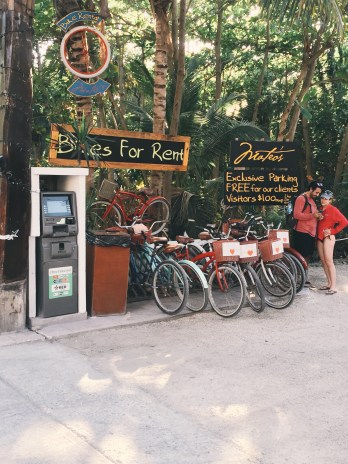 Hippie Life: The Magic Of Tulum, Mexico bike rental