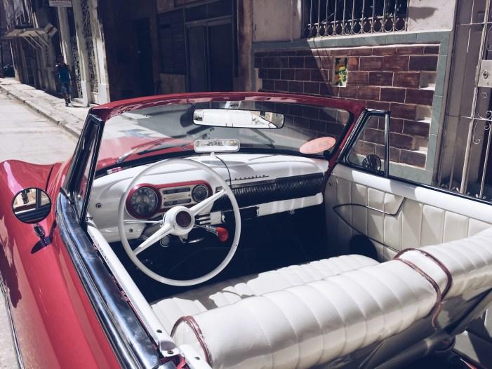 Vintage Classic Car 1950's Old Havana, Cuba