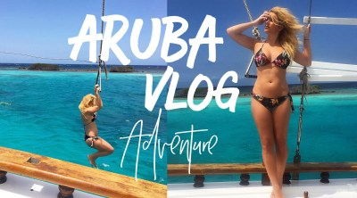 Aruba Vlog Adventure: Sailboat, Paddle Boarding & Beaches