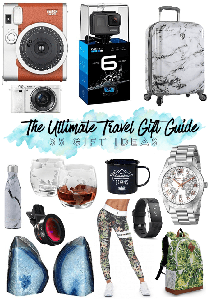 The Ultimate Travel Gift Guide For Travel Lovers - 35 Gift Ideas