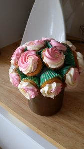 Cupcake Flower Bouquet 3