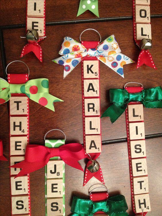 Scrabble Tile Tags