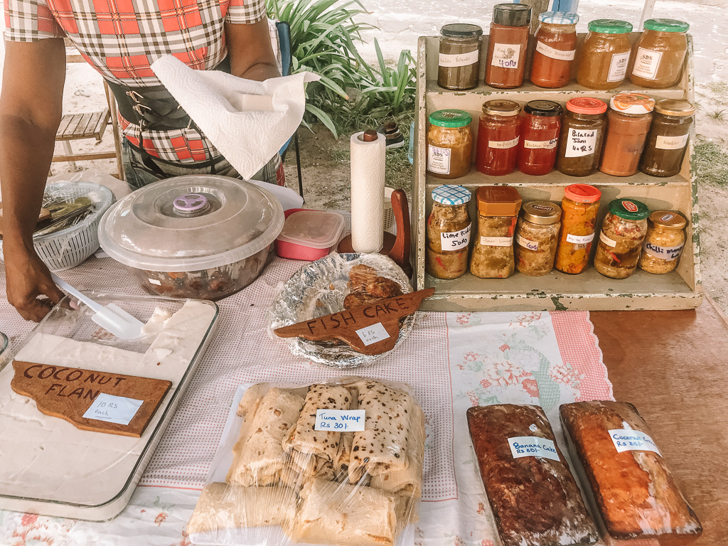 Local Jams, Chilli and Chutney on sale