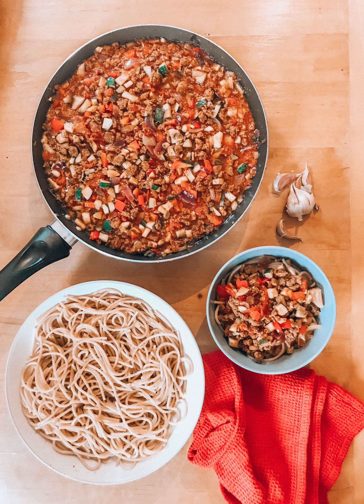 Vegan Spaghetti Bolognese – I was wrong about Quorn