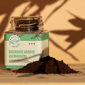 Read more about the article Neu bei uns: Vanillepulver zu 100% aus gemahlener Bourbon Vanille