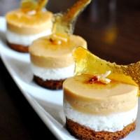 Entremet Poire & Caramel Beurre Salé