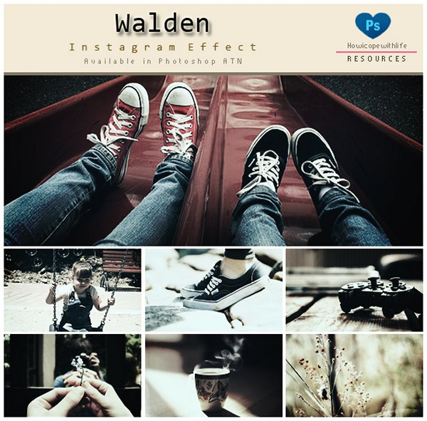 Walden Instagram Effects