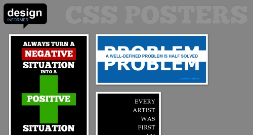 CSS Posters