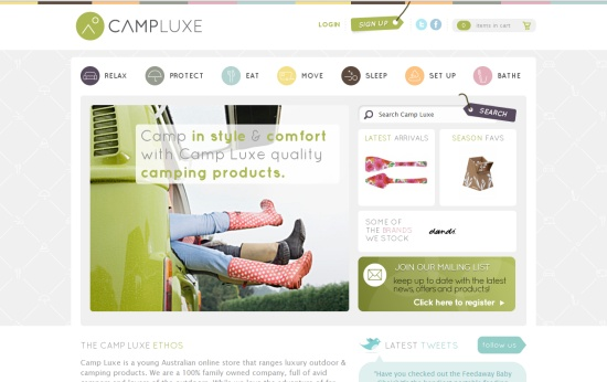 Camp Luxe