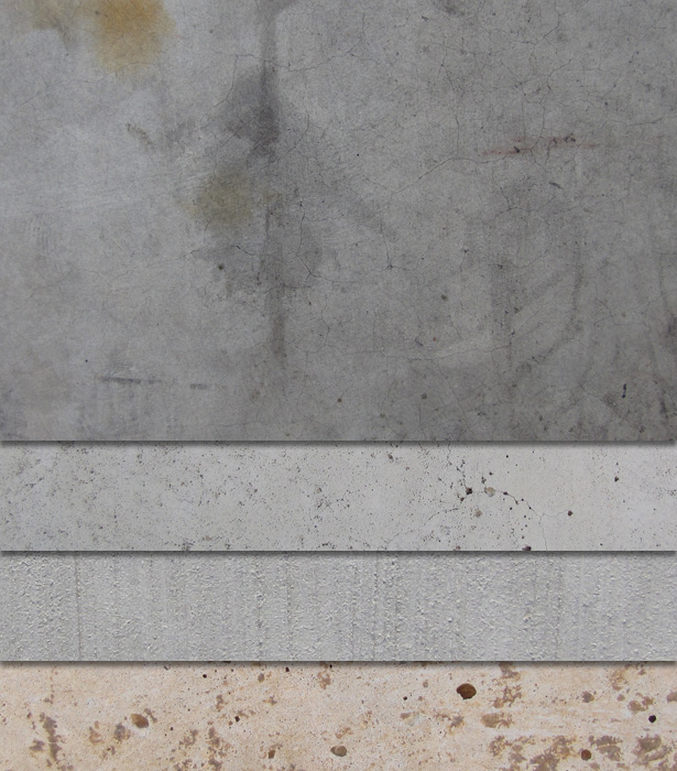 Free Download: 4 High-Res Concrete Textures