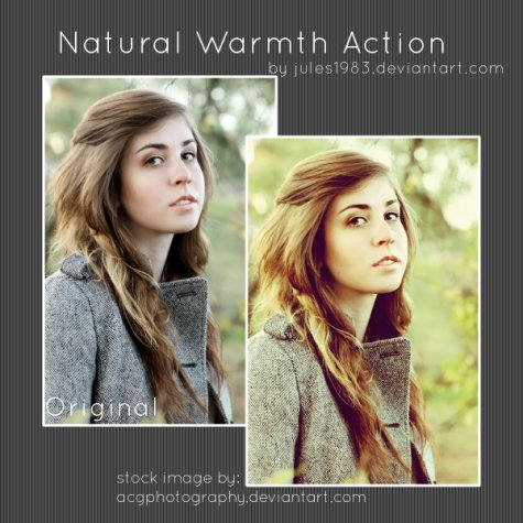 Natural Warmth Action