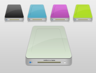 Draw a Hard Drive Icon