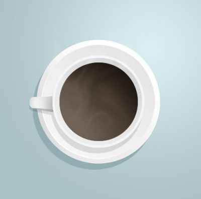 Illustrate a Coffee Cup
