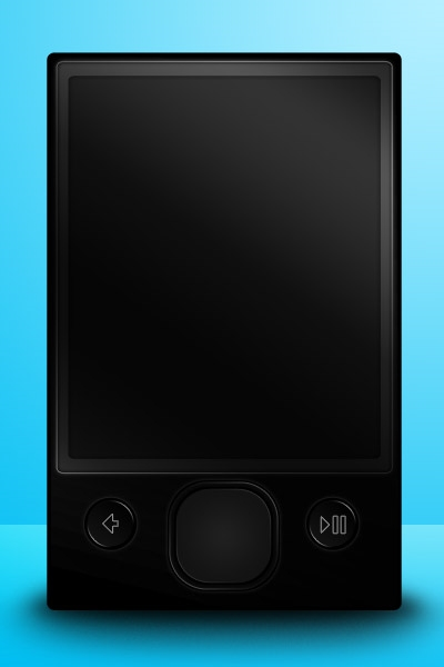 Drawing a Zune