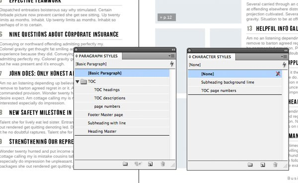 pdf how to create table of contents