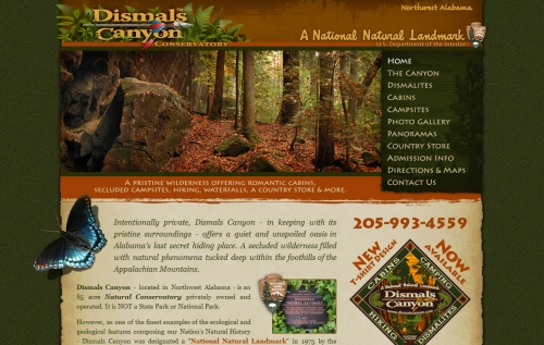 Dismals Canyon Conservatory