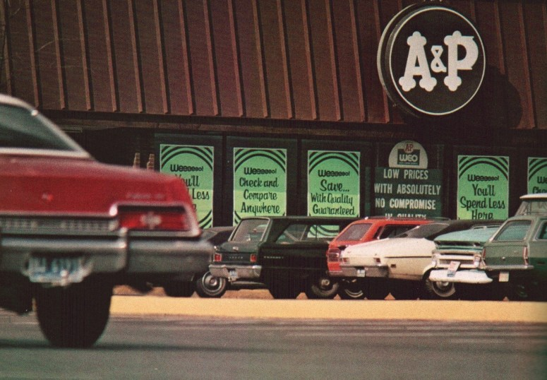 A&P WEO store 1973