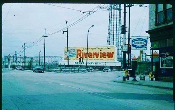 riverview park sign 1959